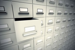 electronic-documents-information-governance | Photo Courtesy of ThinkStock http://www.thinkstockphotos.com/image/stock-photo-file-cabinets/178479371/