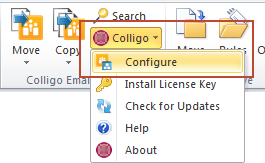 EM_configure drop down