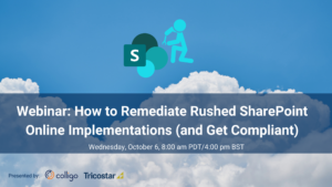 Learn to remedy SharePoint Online implementations for governance and compliance in the world of modern work