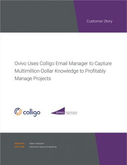 Colligo | Case Study | Ovivo