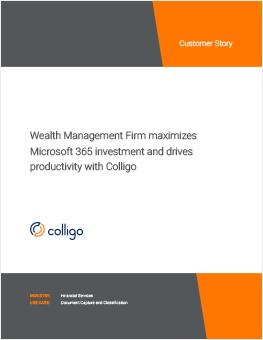 colligo-case_study-wealth_management_firm-cover