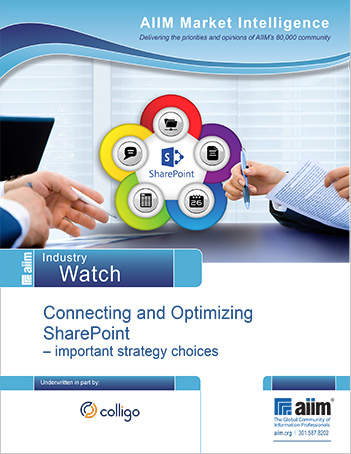 AIIM SharePoint Industry Watch Report 2015