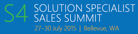 S4 Solution Specialist Sales Summit