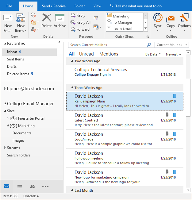Colligo Email Manager | Products | Colligo