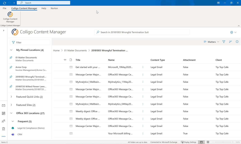 Colligo | Content Manager for Microsoft 365