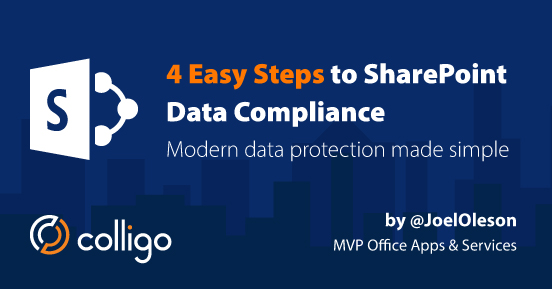 Webinar: SharePoint Data Compliance Made Easy: Site Classifications, Labels and the User Experience