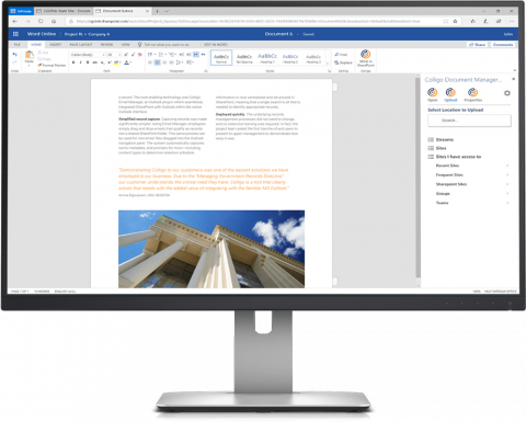 Colligo Document Manager for Office 365 | Products | Colligo