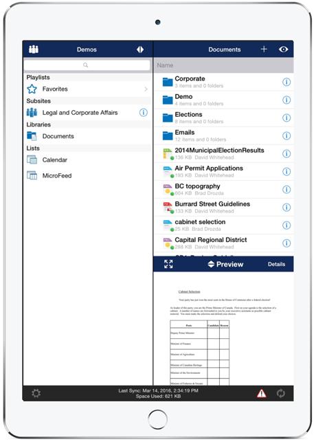 Colligo Briefcase Manager for Office 365 | Products | Colligo