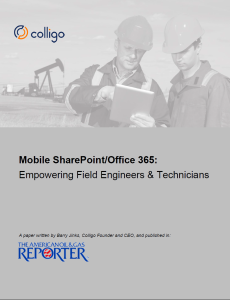 Mobile SharePoint for Field Engineers and Technicians