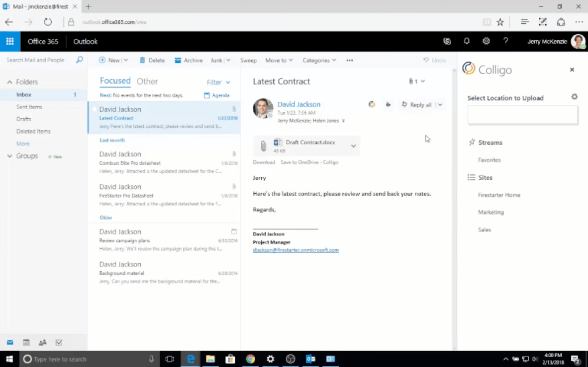 Colligo | Blog | Save Emails to SharePoint from Outlook