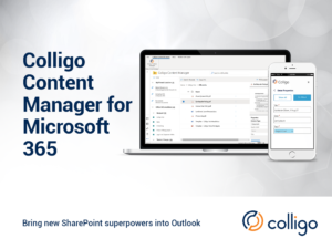 Colligo Cntent Manager for Microsoft 365