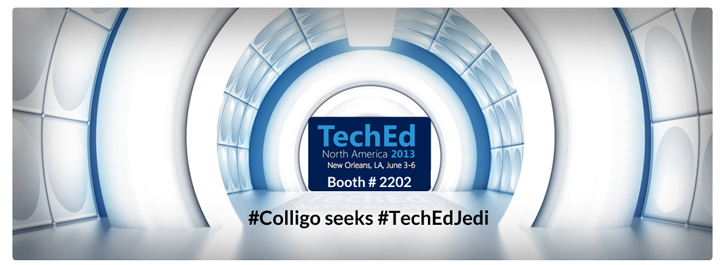 Colligo TechEd Jedi 2013 Booth #2202