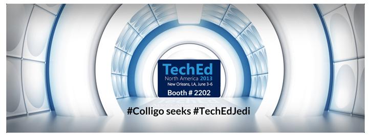 Colligo TechEd Jedi 2013 Booth #2202