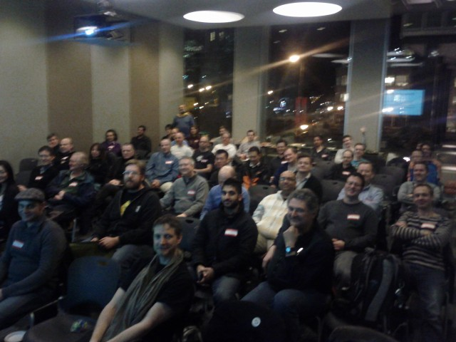 IOS Developer Meetup Crowd