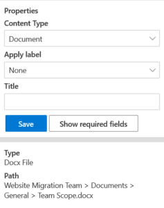 metadata implementation in SharePoint