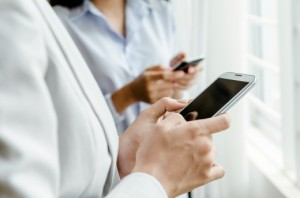 making-byod-work | Photo Courtesy of ThinkStock http://www.thinkstockphotos.com/image/stock-photo-women-with-smart-phone/186453086