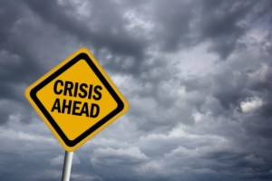 could-saving-all | Photo Courtesy of ThinkStock http://www.thinkstockphotos.com/image/stock-illustration-crisis-ahead-warning-sign/146924755