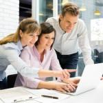 enterprise-collaboration-success | Photo Courtesy of ThinkStock http://www.thinkstockphotos.com/image/stock-photo-businessteam-presentation-on-laptop-in-office/466223211