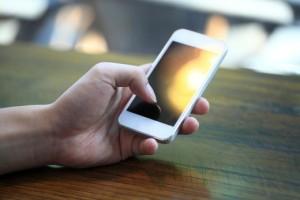 enterprise-mobility-BYOD | Photo Courtesy of ThinkStock http://www.thinkstockphotos.com/image/stock-photo-touching-smart-phone/186333494/