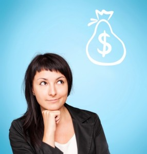 mobility-cost-concerns | Photo Courtesy of ThinkStock http://www.thinkstockphotos.com/image/stock-photo-beautiful-young-woman-think-about-money/179219474