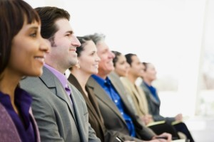 sharepoint-conference-takeaways | Photo Courtesy of ThinkStock http://www.thinkstockphotos.com/image/stock-photo-businesspeople-listening-to-a-presentation/102915248