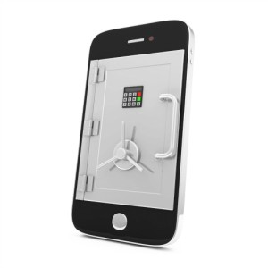 sharepoint-mobile-security | Photo Courtesy of Depositphotos http://depositphotos.com/25752541/stock-photo-Mobile-Security-and-Protection-Concept.-Smartphone-with-Safe-Door-isolated-on-white-background.html?sq=1xmd3r